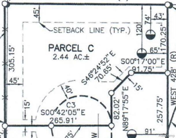 PARCEL C N Rushton Road, Green Oak Twp, MI 48178 (MLS #219072261) :: The Toth Team