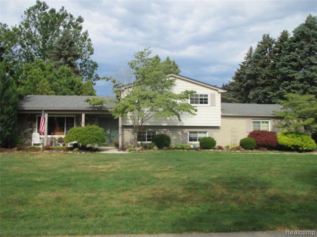 46433 Franks Lane, Shelby Twp, MI 48315 (#219072292) :: Alan Brown Group