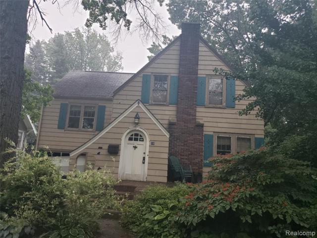 58 Devonshire Road, Pleasant Ridge, MI 48069 (#219072360) :: The Alex Nugent Team | Real Estate One