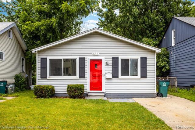 633 Camden St, Ferndale, MI 48220 (#219072637) :: The Alex Nugent Team | Real Estate One
