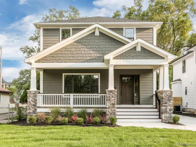 518 Devillen Avenue, Royal Oak, MI 48073 (#219072790) :: The Buckley Jolley Real Estate Team