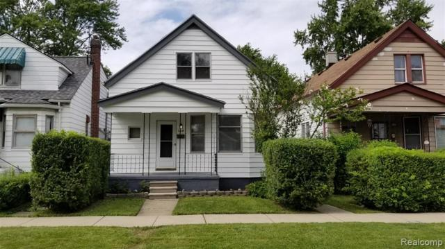 158 W George Avenue, Hazel Park, MI 48030 (#219072930) :: RE/MAX Nexus