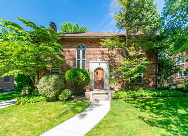 926 Bedford Road, Grosse Pointe Park, MI 48230 (#219073308) :: Alan Brown Group