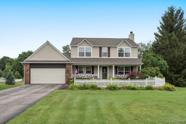 12481 Peabody Drive, Tyrone Twp, MI 48430 (#219073504) :: The Buckley Jolley Real Estate Team
