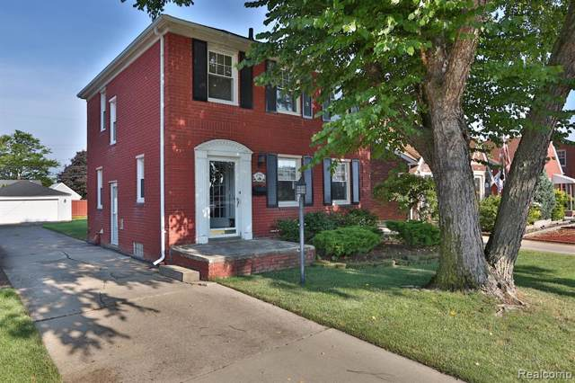 2984 22ND Street, Wyandotte, MI 48192 (#219073933) :: The Buckley Jolley Real Estate Team