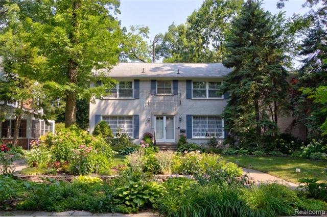 4 Cambridge Boulevard, Pleasant Ridge, MI 48069 (#219074362) :: RE/MAX Nexus