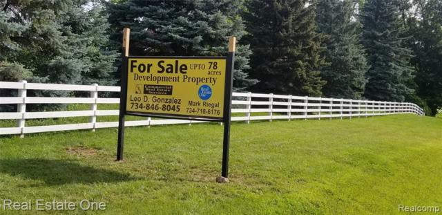 Vacant Plymouth-Ann Arbor Road, Superior Twp, MI 48170 (#219075086) :: RE/MAX Classic