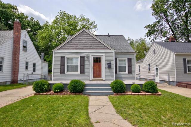 722 S Rembrandt Avenue, Royal Oak, MI 48067 (#219075719) :: The Buckley Jolley Real Estate Team