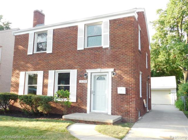 1630 Bournemouth Road, Grosse Pointe Woods, MI 48236 (#219076079) :: The Buckley Jolley Real Estate Team