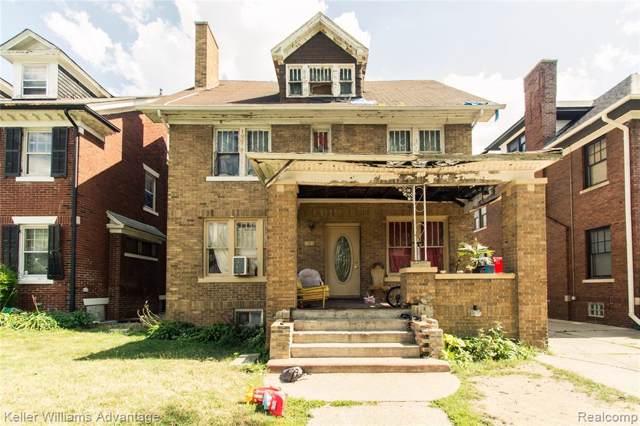 1651 Edison Street, Detroit, MI 48206 (#219076278) :: The Buckley Jolley Real Estate Team