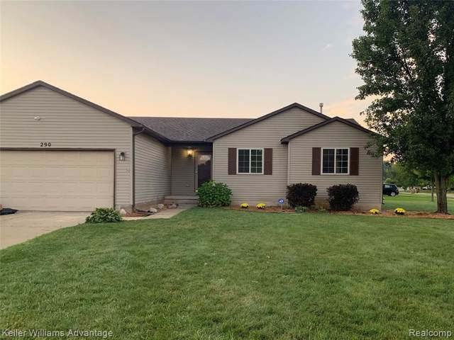 290 Waterlily Drive, Northfield Twp, MI 48189 (#219077924) :: Team DeYonker