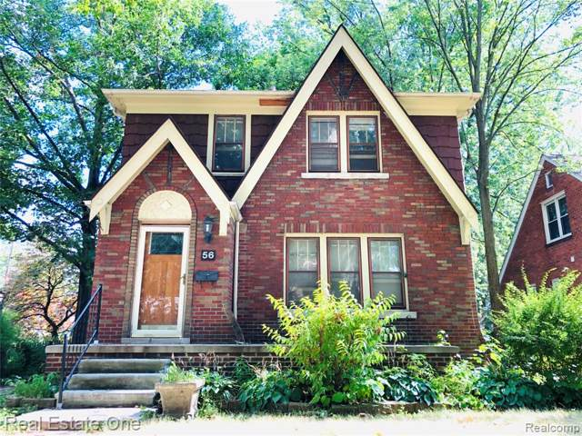 56 Devonshire Road, Pleasant Ridge, MI 48069 (#219079939) :: RE/MAX Nexus