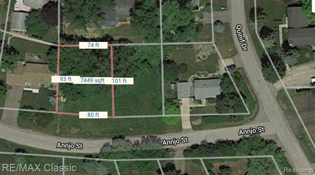 Vacant Annjo Street, Walled Lake, MI 48390 (#219080095) :: The Buckley Jolley Real Estate Team