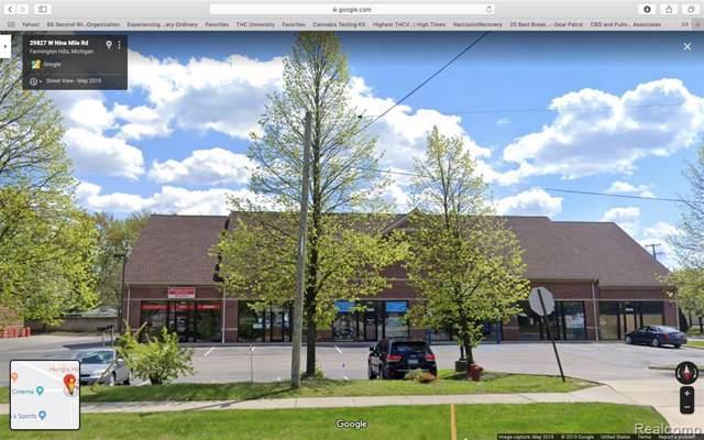 29829 W W 9 Mile Road, Farmington Hills, MI 48336 (MLS #219080119) :: The John Wentworth Group