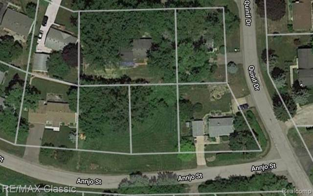 Vacant Annjo Street, Walled Lake, MI 48390 (#219080121) :: The Buckley Jolley Real Estate Team