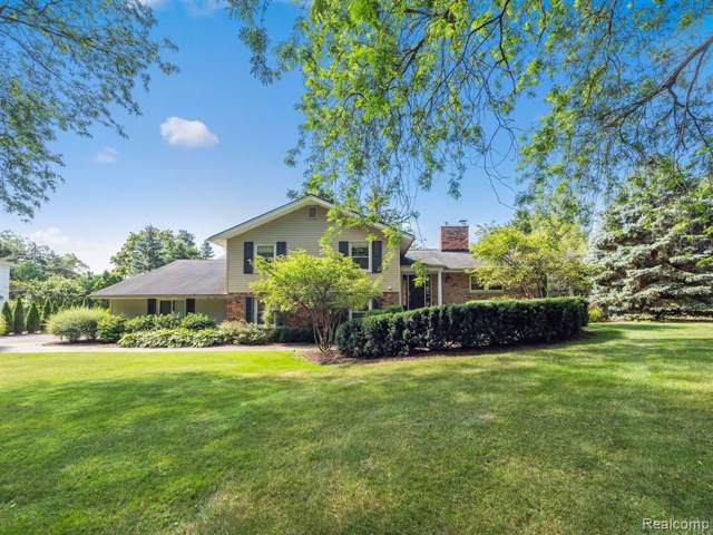 1072 Satterlee Road, Bloomfield Twp, MI 48304 (#219080204) :: RE/MAX Classic