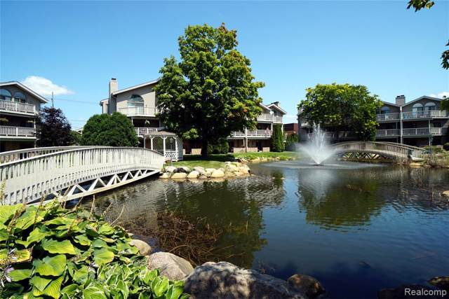 21112 Boulder Circle #103, Northville, MI 48167 (#219080211) :: The Buckley Jolley Real Estate Team