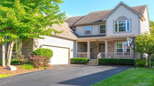 438 Franklin Lake Circle, Oxford Twp, MI 48371 (#219080319) :: RE/MAX Classic
