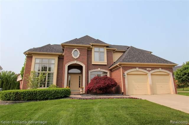 24477 Thatcher Drive, Novi, MI 48375 (#219080402) :: The Buckley Jolley Real Estate Team