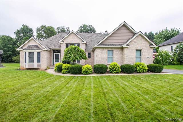 9627 Mohican Court, Hamburg Twp, MI 48169 (#219080860) :: The Buckley Jolley Real Estate Team