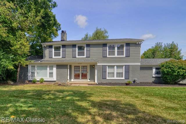 3226 Hartslock Woods Drive, West Bloomfield Twp, MI 48322 (#219080874) :: The Alex Nugent Team | Real Estate One