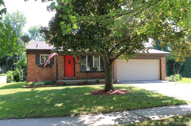 40925 Five Mile Road, Plymouth Twp, MI 48170 (#219081051) :: RE/MAX Classic