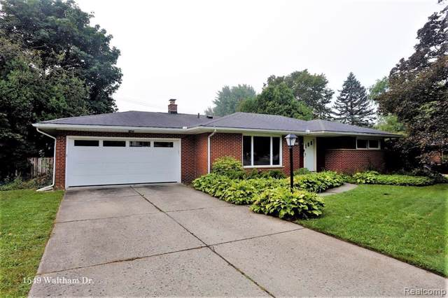 1549 Waltham Drive, Ann Arbor, MI 48103 (#219081103) :: GK Real Estate Team