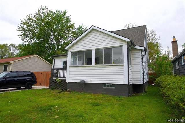 370 W Maxlow Avenue, Hazel Park, MI 48030 (#219081209) :: The Buckley Jolley Real Estate Team