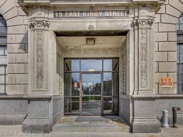 15 E Kirby #220 Street #220, Detroit, MI 48202 (#219081373) :: The Alex Nugent Team | Real Estate One
