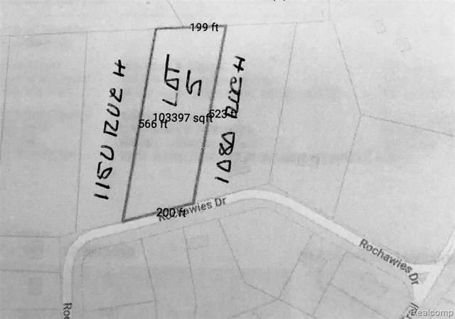 0000 Rochawies, Oakland Twp, MI 48363 (#219081610) :: The Buckley Jolley Real Estate Team