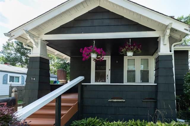 714 S Blair Avenue, Royal Oak, MI 48067 (#219081691) :: RE/MAX Classic
