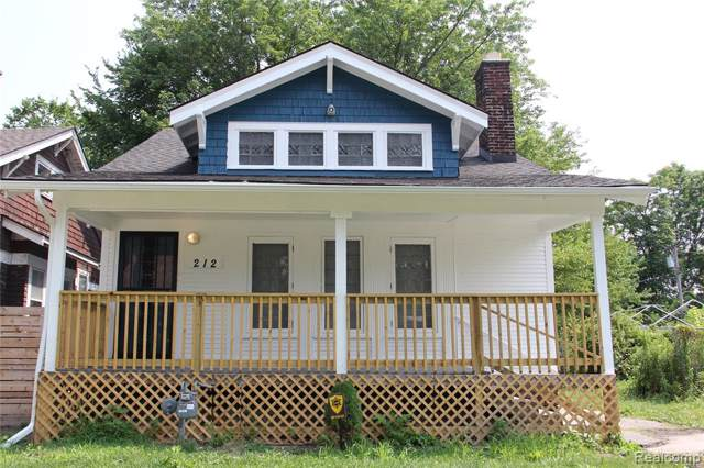 212 Marlborough Street, Detroit, MI 48215 (#219081704) :: GK Real Estate Team
