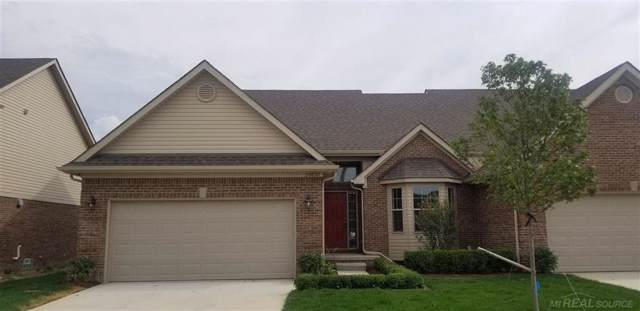 20830 Knobs Hollow Drive Unit 61, Macomb Twp, MI 48044 (#58031390465) :: The Alex Nugent Team | Real Estate One