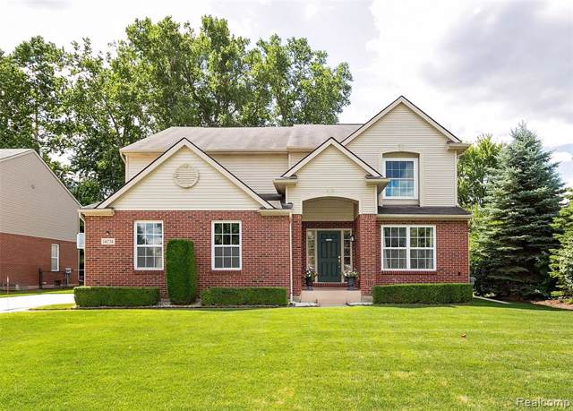14274 Red Pine Drive, Sterling Heights, MI 48313 (MLS #219081815) :: The Toth Team