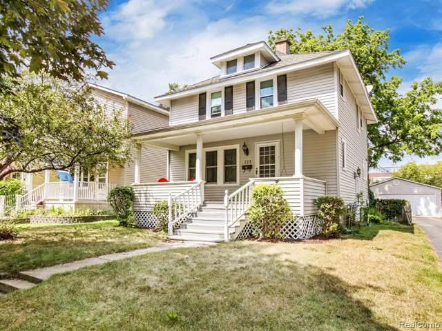 323 E Kenilworth Avenue, Royal Oak, MI 48067 (#219081923) :: RE/MAX Classic
