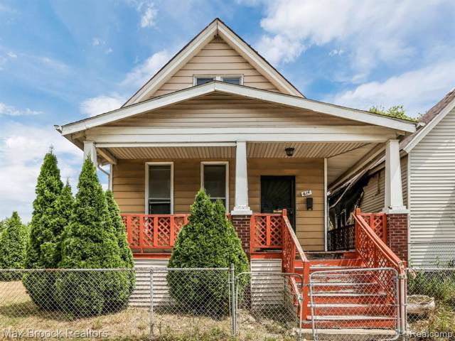 614 Field Street, Detroit, MI 48214 (#219082118) :: The Buckley Jolley Real Estate Team