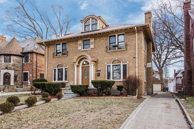 18054 Birchcrest Drive, Detroit, MI 48221 (#219082426) :: The Buckley Jolley Real Estate Team