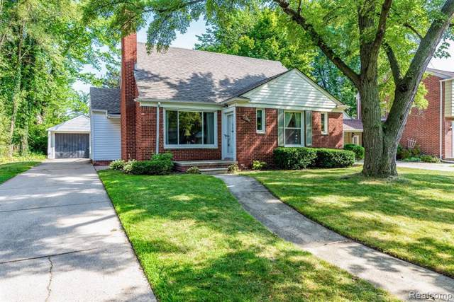 13328 Kingston Avenue, Huntington Woods, MI 48070 (#219082498) :: Keller Williams West Bloomfield