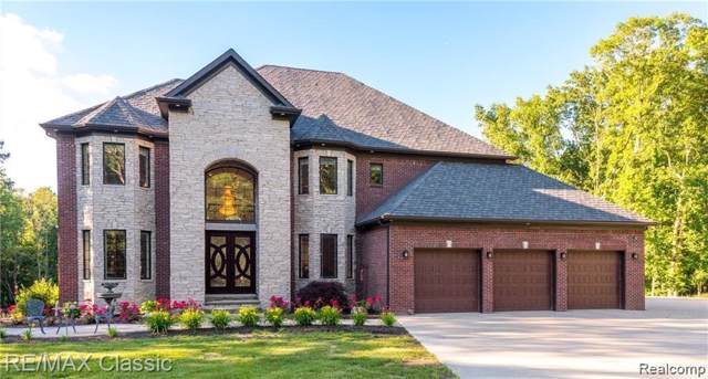 3130 Duana Drive, Milford Twp, MI 48380 (#219082573) :: The Mulvihill Group