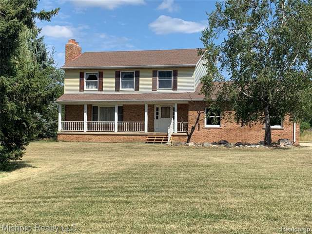 4673 Bishop Road, Almont Twp, MI 48428 (#219083137) :: RE/MAX Classic