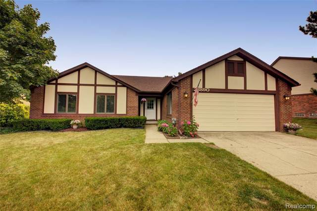 23890 Hickory Grove Lane, Novi, MI 48375 (#219083265) :: RE/MAX Nexus