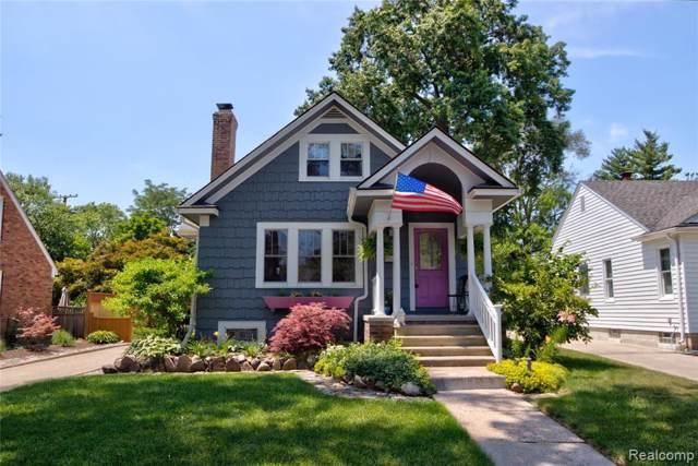 720 S Gainsborough Avenue, Royal Oak, MI 48067 (#219083345) :: The Buckley Jolley Real Estate Team