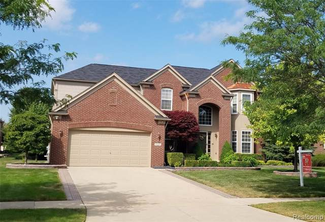 49100 Running Trout Lane, Northville Twp, MI 48168 (#219083371) :: GK Real Estate Team