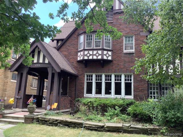2314 Longfellow Street, Detroit, MI 48206 (#219083635) :: RE/MAX Classic