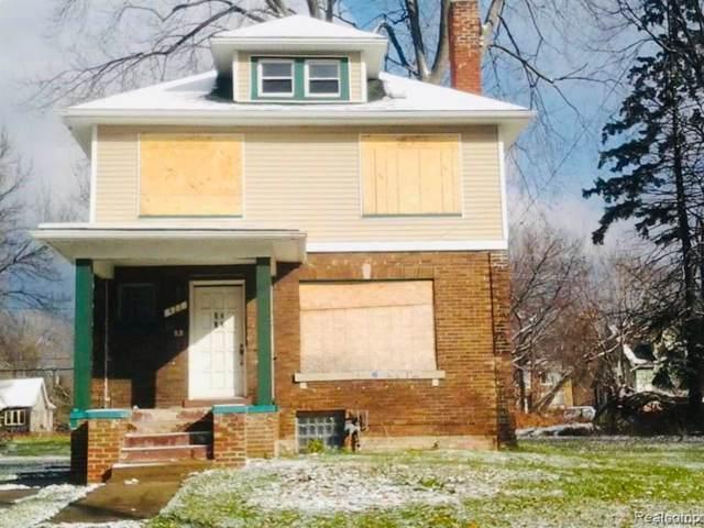 422 Marlborough Street, Detroit, MI 48215 (MLS #219083693) :: The Toth Team