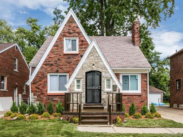 5920 Yorkshire Road, Detroit, MI 48224 (#219083695) :: GK Real Estate Team