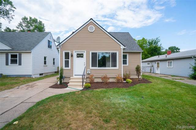 1595 Silman Street, Ferndale, MI 48220 (#219083759) :: Alan Brown Group