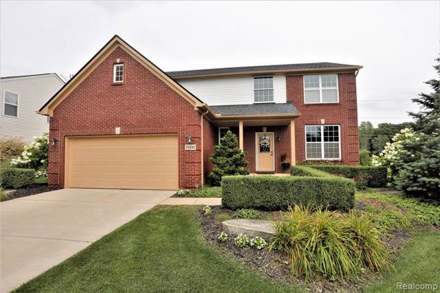 5000 White Tail Court, Commerce Twp, MI 48382 (MLS #219083972) :: The John Wentworth Group