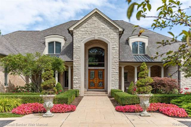 46472 Shelley Pond Drive, Northville Twp, MI 48168 (#219084055) :: The Mulvihill Group