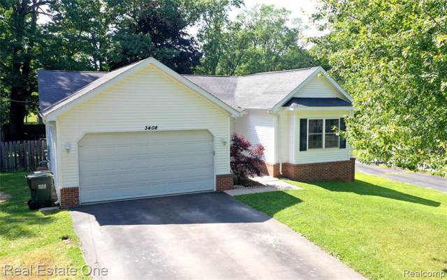 3408 Eastwood Drive, Rochester Hills, MI 48309 (#219084220) :: Alan Brown Group